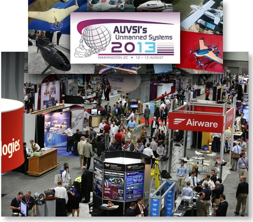 AUVSI's Conference Photo from 2013